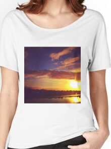 Sunset in Rio, Pt.1 Women's Relaxed Fit T-Shirt