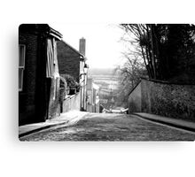 Old Cobbled Road Canvas Print