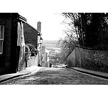 Old Cobbled Road Photographic Print