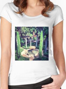 Gardens in Alhambra Women's Fitted Scoop T-Shirt
