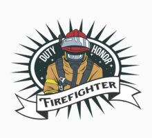 Firefighter Duty and Honor by ArtisticMind