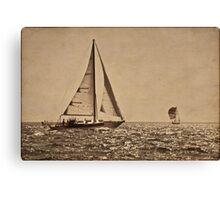 Sail the Silv'ry Sea Canvas Print