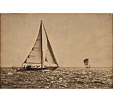 Sail the Silv'ry Sea Photographic Print