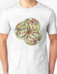 ©DA FS Grounded Fractal FX. Unisex T-Shirt