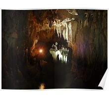 Starlight Cave, New Zealand Poster