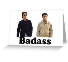 Rain Man (Badass) Greeting Card