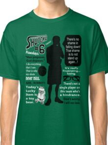 Midorima Shintarou Quotes Classic T-Shirt