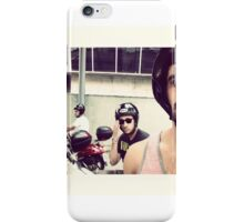 Mopeds in Barcelona iPhone Case/Skin