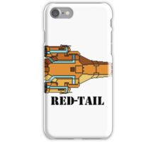 Red-Tail iPhone Case/Skin