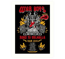 Road to Valhalla Tour Art Print