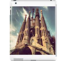 La Sagrada Familia, Barcelona iPad Case/Skin