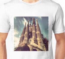 La Sagrada Familia, Barcelona Unisex T-Shirt