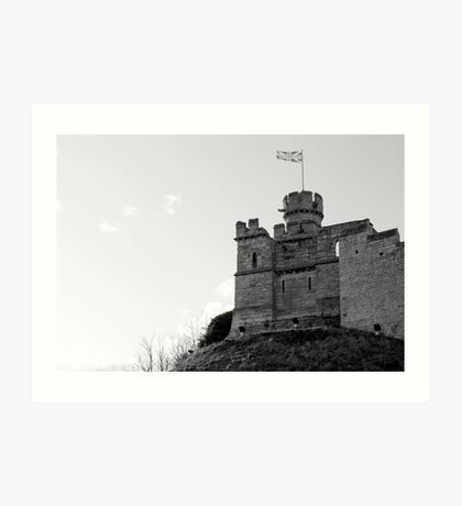 Lincoln Castle Art Print