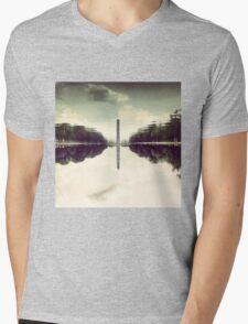 Washington Monument Reflections Mens V-Neck T-Shirt