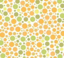 Autism can be hard to see - Green on Orange Sticker