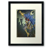 Batgirl, bat girl, bat woman, batwoman, Art, Poster, Superhero, Comic Book, Comics,  comic books, batman, bat man, joe badon Framed Print