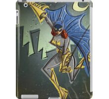 Batgirl, bat girl, bat woman, batwoman, Art, Poster, Superhero, Comic Book, Comics,  comic books, batman, bat man, joe badon iPad Case/Skin
