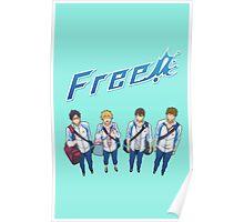 Free! Squad Poster