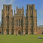 Wells Cathedral by RedHillDigital