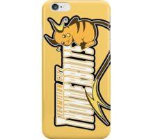 Vermilion City Thunderbolts: Raichu Sports Logo iPhone Case/Skin