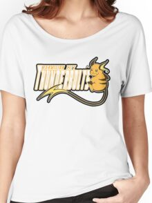 Vermilion City Thunderbolts: Raichu Sports Logo Women's Relaxed Fit T-Shirt