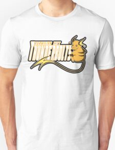 Vermilion City Thunderbolts: Raichu Sports Logo T-Shirt