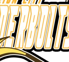 Vermilion City Thunderbolts: Raichu Sports Logo Sticker