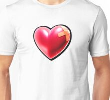 Patched heart Unisex T-Shirt