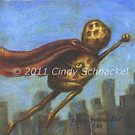 Super Power Peanut in Cape by Cindy Schnackel