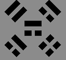 Reverse Four Symbols Seal - Naruto (Shimura Danzō) by langstal