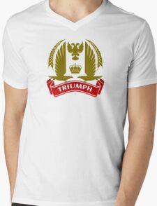 Knight Triumph Mens V-Neck T-Shirt