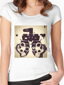 One...or Two Women's Fitted Scoop T-Shirt