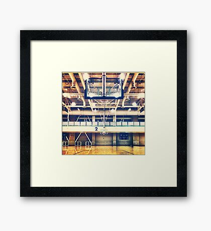 Empty Courts Framed Print