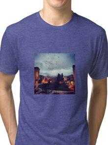 Spooky Evening Tri-blend T-Shirt