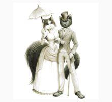 Victorian Cat Series 01 One Piece - Short Sleeve