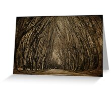 where the trees still whisper Greeting Card