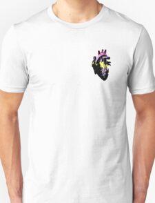 Aporagender Pride Heart (with black detail) T-Shirt