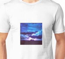 Blue Sunset Unisex T-Shirt
