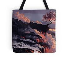 The Land of Lava Tote Bag
