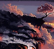 The Land of Lava by ArabellaMarie