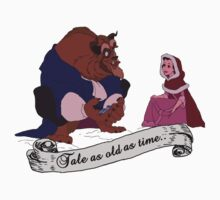 """Tale as old as time..."" - Beauty and the Beast Kids Clothes"