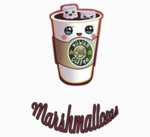 kawaii coffe marshmallows by pablobellas