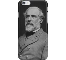 Civil War General Robert E. Lee iPhone Case/Skin