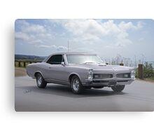 1967 Pontiac GTO '389 TriPower' Metal Print