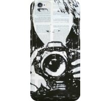 Girl with camera #2. iPhone Case/Skin