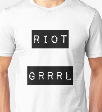 riot grrrl Unisex T-Shirt