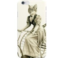 Victorian Cat Series 03 iPhone Case/Skin