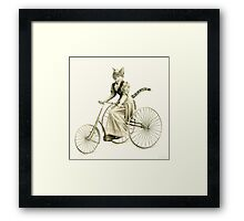 Victorian Cat Series 03 Framed Print