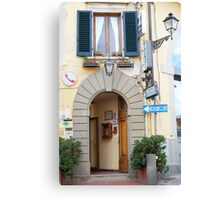 Albergo in Toscana Canvas Print