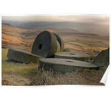 Stanage Edge: The Peak District Poster